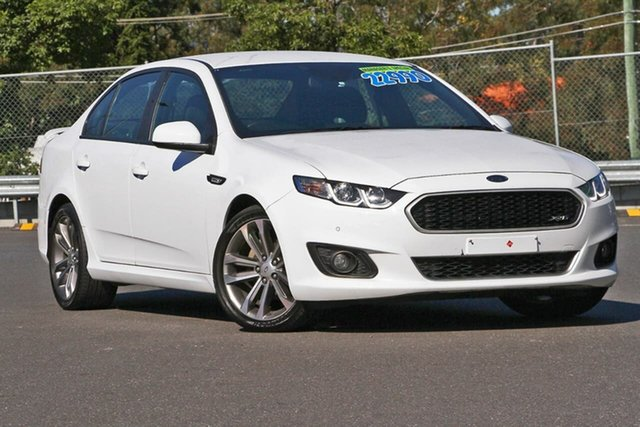 Used Ford Falcon FG X XR6, 2016 Ford Falcon FG X XR6 White 6 Speed Sports Automatic Sedan