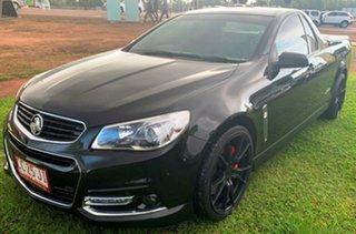2015 Holden Ute VF MY15 SS V Ute Black 6 Speed Manual Utility