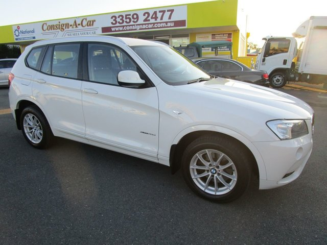 Used BMW X3 F25 MY0412 xDrive20d Steptronic, 2012 BMW X3 F25 MY0412 xDrive20d Steptronic White 8 Speed Automatic Wagon