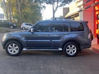 2007 Mitsubishi Pajero NS VR-X Metallic Grey 5 Speed Sports Automatic Wagon