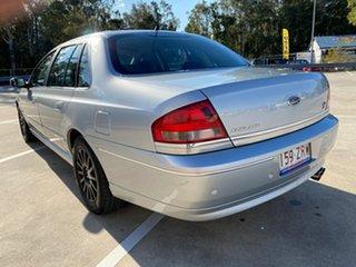 2004 Ford Fairlane BA Ghia Silver 4 Speed Automatic Sedan