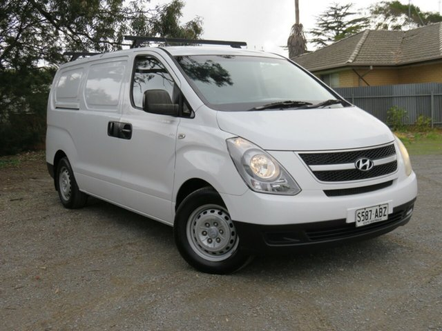 Used Hyundai iLOAD TQ-V , 2008 Hyundai iLOAD TQ-V White 5 Speed Sports Automatic Van