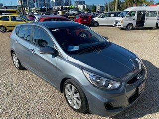 2017 Hyundai Accent RB6 MY18 Sport Grey 6 Speed Automatic Sedan.