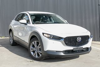 2020 Mazda CX-30 DM4WLA G25 SKYACTIV-Drive i-ACTIV AWD Touring Snowflake White Pearl 6 Speed.