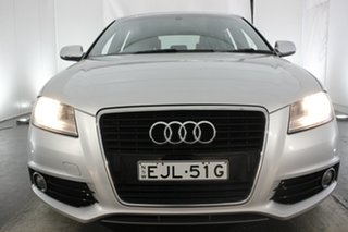 2010 Audi A3 8P MY11 TFSI Sportback S Tronic Ambition Silver 7 Speed Sports Automatic Dual Clutch.
