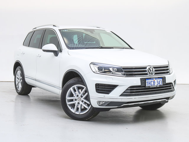 Used Volkswagen Touareg 7P MY18 150 TDI Element, 2018 Volkswagen Touareg 7P MY18 150 TDI Element White 8 Speed Automatic Wagon