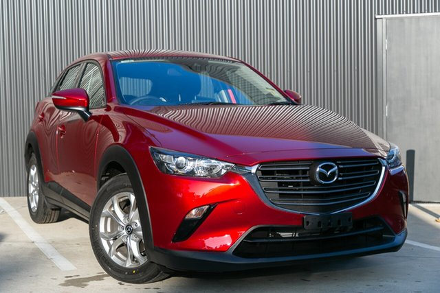 New Mazda CX-3 DK2W7A Maxx SKYACTIV-Drive FWD Sport, 2020 Mazda CX-3 DK2W7A Maxx SKYACTIV-Drive FWD Sport Soul Red Crystal 6 Speed Sports Automatic Wagon