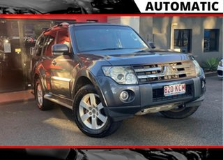 2007 Mitsubishi Pajero NS VR-X Metallic Grey 5 Speed Sports Automatic Wagon.