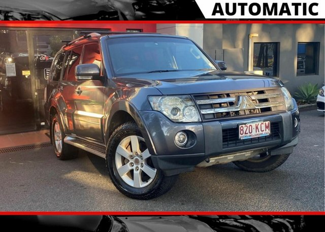 Used Mitsubishi Pajero NS VR-X Ashmore, 2007 Mitsubishi Pajero NS VR-X Metallic Grey 5 Speed Sports Automatic Wagon