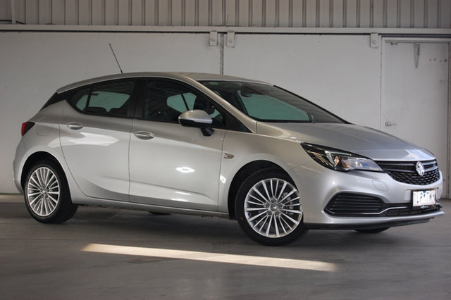 Used Holden Astra BK MY17 R+, 2017 Holden Astra BK MY17 R+ Silver 6 Speed Sports Automatic Hatchback