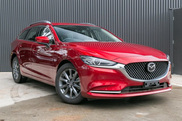 Demo Mazda 6 GL1033 Touring SKYACTIV-Drive Mornington, 2019 Mazda 6 GL1033 Touring SKYACTIV-Drive Soul Red Crystal 6 Speed Sports Automatic Wagon