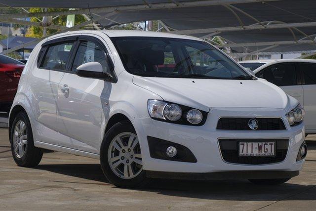 Used Holden Barina TM MY16 CD, 2016 Holden Barina TM MY16 CD White 5 Speed Manual Hatchback