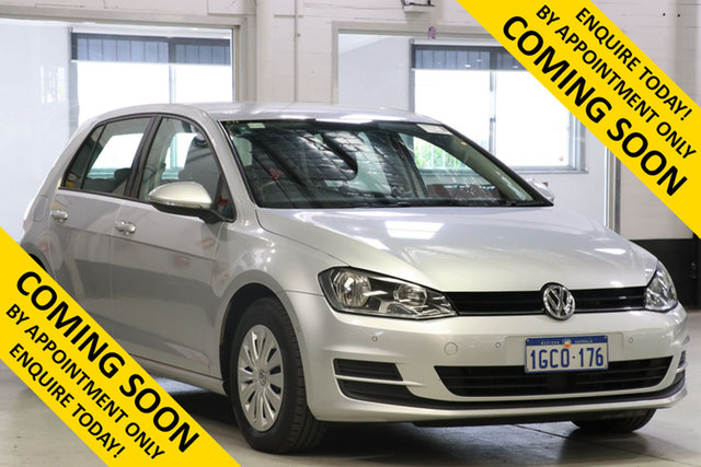 Used Volkswagen Golf AU MY16 92 TSI, 2016 Volkswagen Golf AU MY16 92 TSI Silver 7 Speed Auto Direct Shift Hatchback