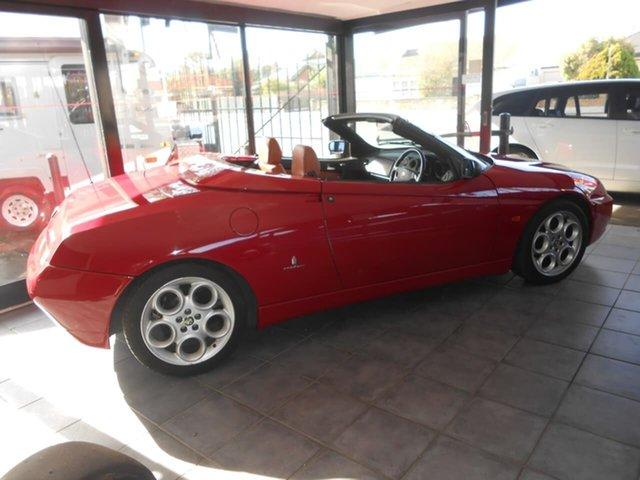Used Alfa Romeo Spider MY2004 JTS, 2004 Alfa Romeo Spider MY2004 JTS Red 5 Speed Manual Convertible
