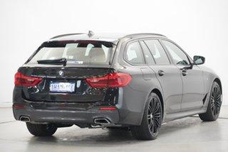 2018 BMW 5 Series G31 520d Touring Steptronic M Sport Black 8 Speed Sports Automatic Wagon