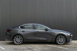 2020 Mazda 3 BP2S7A G20 SKYACTIV-Drive Pure Machine Grey 6 Speed Sports Automatic Sedan.