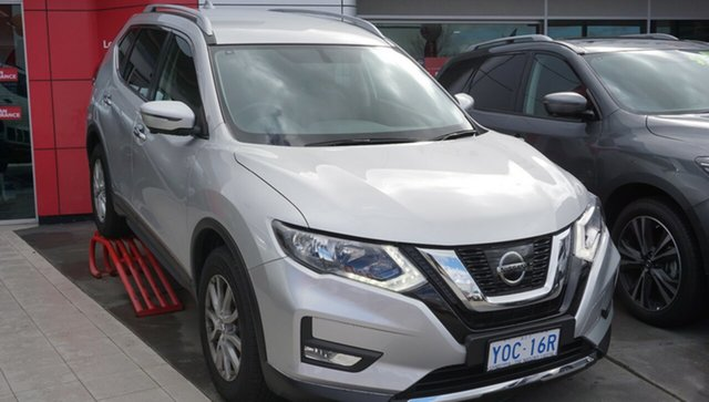 Demo Nissan X-Trail T32 Series II ST-L X-tronic 4WD, 2019 Nissan X-Trail T32 Series II ST-L X-tronic 4WD Brilliant Silver 7 Speed Constant Variable Wagon