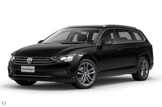 2020 Volkswagen Passat 3C (B8) MY20 140TSI DSG Business Black 7 Speed Sports Automatic Dual Clutch.