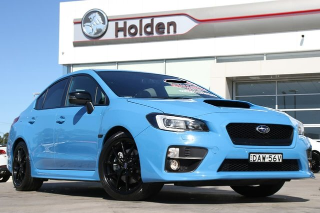 Used Subaru WRX V1 MY16 Hyper Blue Lineartronic AWD, 2015 Subaru WRX V1 MY16 Hyper Blue Lineartronic AWD Hyper Blue 8 Speed Constant Variable Sedan