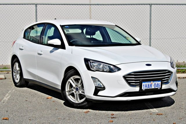 Demo Ford Focus SA 2020.25MY Trend, 2020 Ford Focus SA 2020.25MY Trend White 8 Speed Automatic Hatchback
