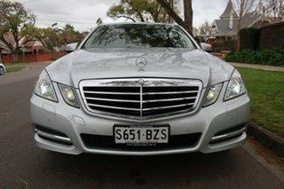 2010 Mercedes-Benz E250 212 CGI Avantgarde 5 Speed Automatic Sedan.