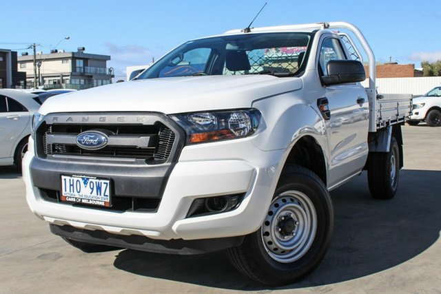 Used Ford Ranger PX MkII XL Hi-Rider, 2016 Ford Ranger PX MkII XL Hi-Rider White 6 Speed Sports Automatic Cab Chassis