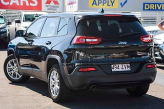 2015 Jeep Cherokee KL MY15 Sport Black 9 Speed Sports Automatic Wagon.