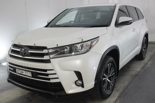 2019 Toyota Kluger GSU50R GX 2WD White 8 Speed Sports Automatic Wagon