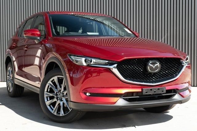 New Mazda CX-5 KF4WLA Akera SKYACTIV-Drive i-ACTIV AWD, 2020 Mazda CX-5 KF4WLA Akera SKYACTIV-Drive i-ACTIV AWD Soul Red Crystal 6 Speed Sports Automatic