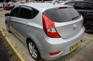 2012 Hyundai Accent RB Premium Silver 5 Speed Manual Hatchback