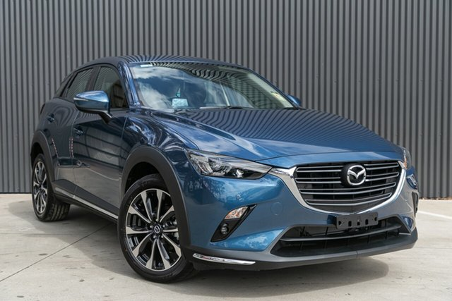 New Mazda CX-3 DK2W7A sTouring SKYACTIV-Drive FWD, 2020 Mazda CX-3 DK2W7A sTouring SKYACTIV-Drive FWD Eternal Blue 6 Speed Sports Automatic Wagon