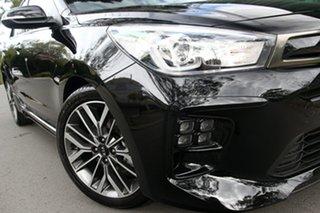 2020 Kia Rio YB MY21 GT-Line DCT Aurora Black 7 Speed Sports Automatic Dual Clutch Hatchback.