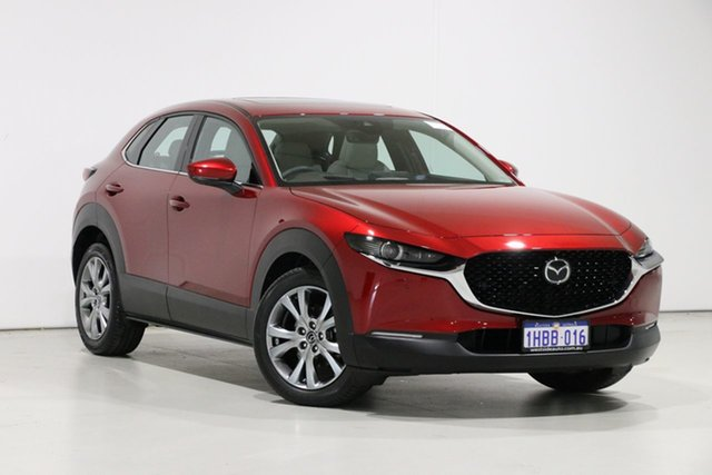 Used Mazda CX-30 CX-30A G25 Astina (AWD), 2020 Mazda CX-30 CX-30A G25 Astina (AWD) Red 6 Speed Automatic Wagon