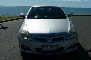 2005 Holden Tigra XC Silver 5 Speed Manual Convertible