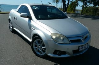 2005 Holden Tigra XC Silver 5 Speed Manual Convertible.