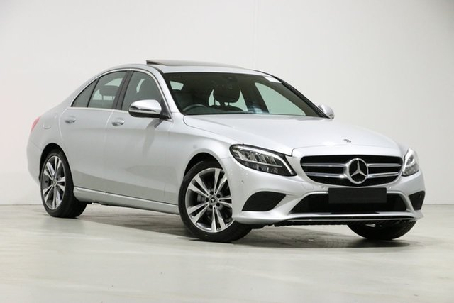 Used Mercedes-Benz C200 W205 MY20 , 2019 Mercedes-Benz C200 W205 MY20 Silver 9 Speed Automatic G-Tronic Sedan