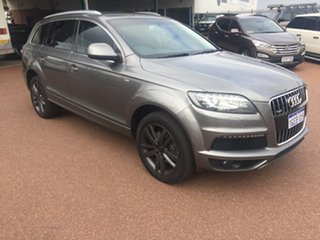 2012 Audi Q7 MY12 3.0 TDI Quattro Grey 8 Speed Automatic Tiptronic Wagon.
