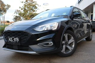 2019 Ford Focus SA 2019.25MY Active Shadow Black 8 Speed Automatic Hatchback.