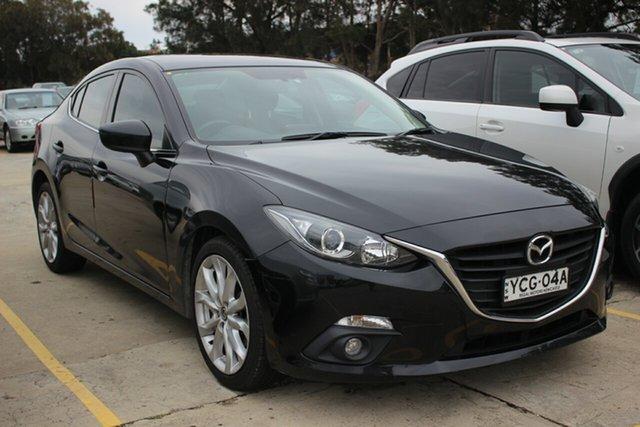Used Mazda 3 BM5238 SP25 SKYACTIV-Drive, 2013 Mazda 3 BM5238 SP25 SKYACTIV-Drive Black 6 Speed Sports Automatic Sedan