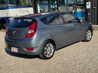 2017 Hyundai Accent RB6 MY18 Sport Grey 6 Speed Automatic Sedan