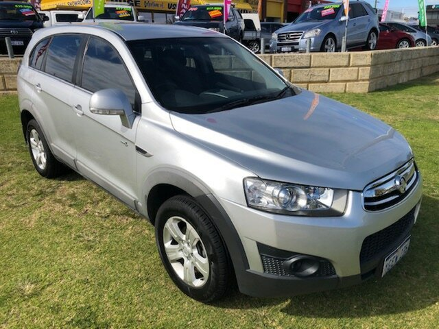 Used Holden Captiva CG Series II 7 SX Wangara, 2012 Holden Captiva CG Series II 7 SX Silver 6 Speed Sports Automatic Wagon