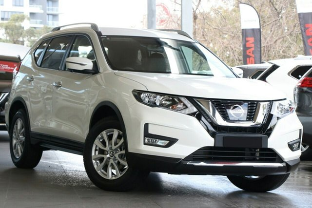 New Nissan X-Trail T32 MY20 ST-L 7 Seat (4x2), 2020 Nissan X-Trail T32 MY20 ST-L 7 Seat (4x2) Ivory Pearl Continuous Variable Wagon