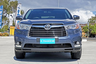 2016 Toyota Kluger GSU50R GX 2WD Blue 6 Speed Sports Automatic Wagon.