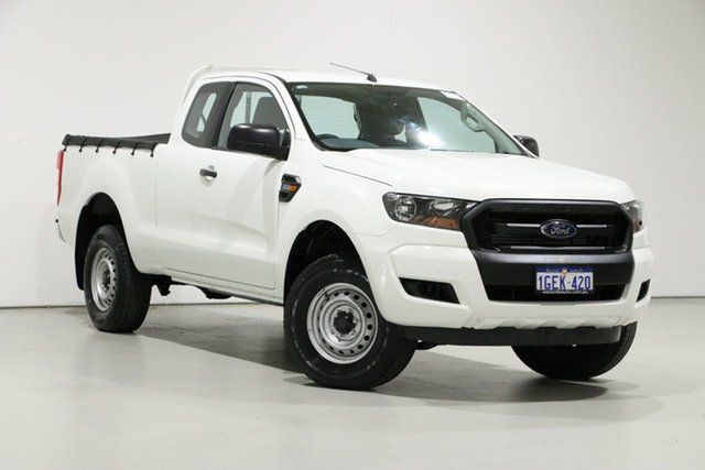 Used Ford Ranger PX MkII MY17 XL 2.2 Hi-Rider (4x2), 2016 Ford Ranger PX MkII MY17 XL 2.2 Hi-Rider (4x2) White 6 Speed Automatic Super Cab Chassis