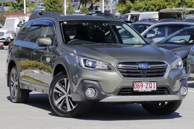 Demo Subaru Outback B6A MY20 2.5i CVT AWD Premium, 2020 Subaru Outback B6A MY20 2.5i CVT AWD Premium Wilderness Green 7 Speed Constant Variable Wagon