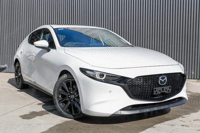 New Mazda 3  , 2020 Mazda 3 MAZDA3 N 6AUTO HATCH X20 ASTINA Snowflake White Pearl Hatchback