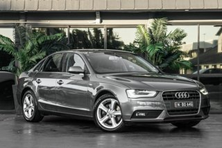 2012 Audi A4 B8 8K MY12 Multitronic Grey 8 Speed Constant Variable Sedan.