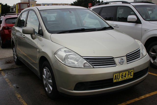 Used Nissan Tiida C11 ST, 2006 Nissan Tiida C11 ST Gold 4 Speed Automatic Sedan
