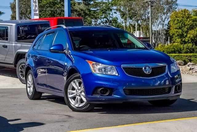 Used Holden Cruze JH Series II MY14 CD Sportwagon, 2013 Holden Cruze JH Series II MY14 CD Sportwagon Blue 6 Speed Sports Automatic Wagon