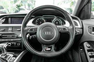 2012 Audi A4 B8 8K MY13 Multitronic Silver 8 Speed Constant Variable Sedan